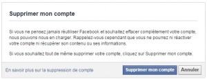 supprimer son compte facebook 3